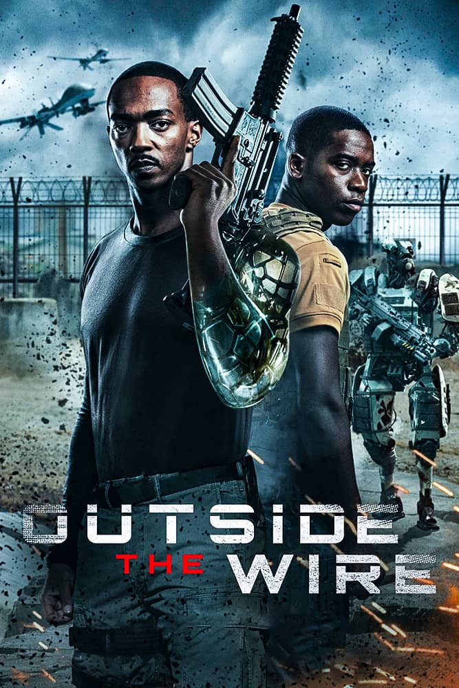 فيلم Outside the Wire 2021 مترجم